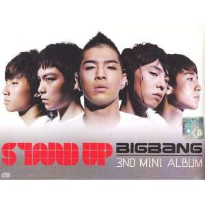 Big Bang 3rd Mini Album CD   Stand Up (Korean Music CD) Big Bang