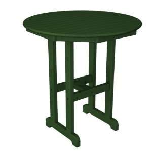 Outdoor Patio Counter Table   Forest Green Patio, Lawn & Garden