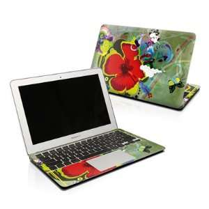 Big Red Design Protector Skin Decal Sticker for Apple MacBook Pro 17