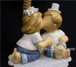 FOREVER in Blue JEANS Beach KIDS Wedding Cake topper