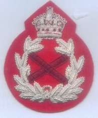 Britain British Army BEF UK Field Marshal Officer Uniform Rank Badge