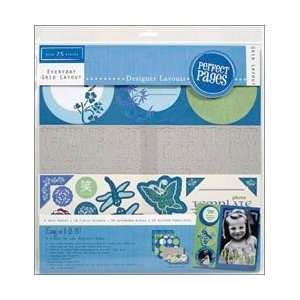 Zen Perfect Pages Kit 12X12 Arts, Crafts & Sewing