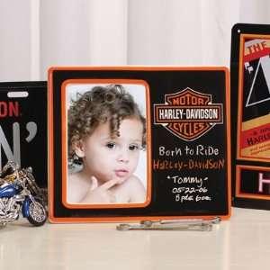 Harley Davidson Black Picture Frame