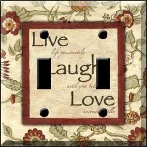 Live Laugh Love LL Light Switch Cover wall plate