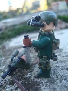 CUSTOM LEGO MINIFIG U.S. GREEN BERET COMANNDO SPEC OPS