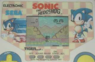 Tiger Electronic Handheld Game Sonic The Hedgehog 1988