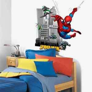 BiG Wall Stickers Mural GREEN GOBLIN Room Decor BUILDING Decals BM1