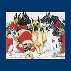 Great Dane Choir Christmas Cards, Boxed Set, R. Maystead items in