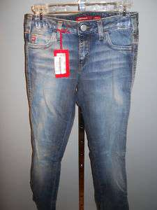 NeW MiSS SiXTY MaRY J BLue JeaNS BooTCuT TRouSeRS 29x32