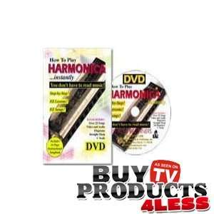 How To Play Harmonica with a free Harmonica, comeplete with DVD, Book