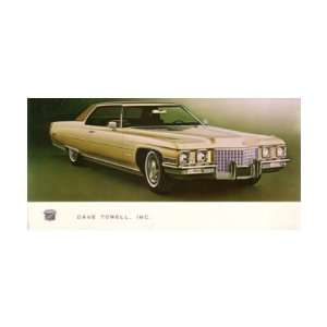 1978 CADILLAC SEDAN DEVILLE Mailer to Test Drive Automotive