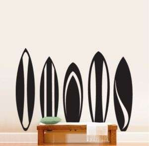 Vinyl Wall Decal Sticker Surfboards Series Set Big