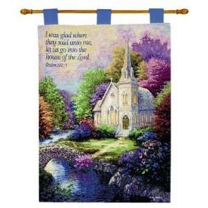 Church In The Country Verse By Nicky Boehme Wallhanging Wall Hanging