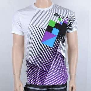 New Billabong Surf Mens short sleeve T shirt White Tee Size S/M/L/XL