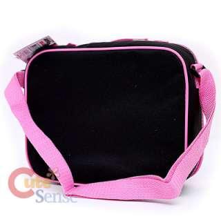 Hello Kitty school Backpack Lunch Bag black pink Love Teddy Bear 7