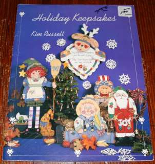 HOLIDAY KEEPSAKES tole painting book for Christmas Halloween