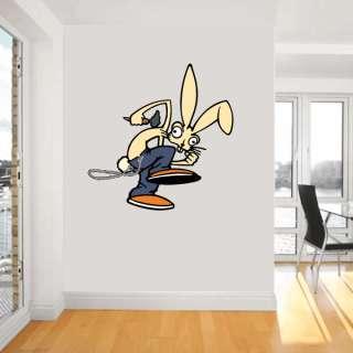 Blink 182 Pop Punk Rabbit Music Wall Sticker Decor Decoration Interior