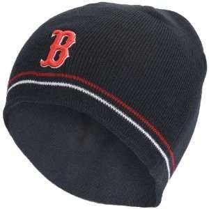 Boston Red Sox   Logo Navy Mauch Beanie