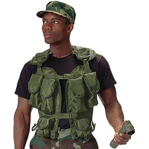 OLIVE DRAB Military ALICE Style Tactical ASSAULT VEST