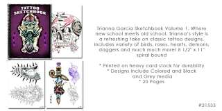 Tattoo Supplies Flash Book Art Classic Traditional USA