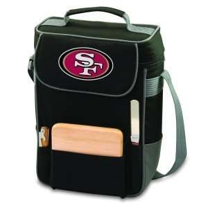 San Francisco 49ers Black Duet Tote Bag