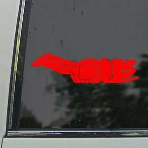 Firefly Class Serenity Side Red Decal Window Red Sticker