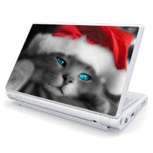 Christmas Kitty Cat Decorative Skin Cover Decal Sticker