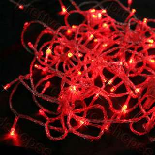 RED Color LED Rope Lights Home Auto Neon Lighting Christmas Festival