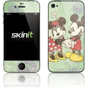 Skinit Mickey & Minnie Holding Hands Vinyl Skin for Apple