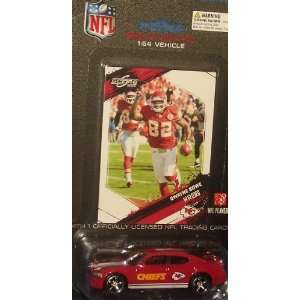 Kansas City Chiefs NFL Diecast 2009 Dodge Charger with
