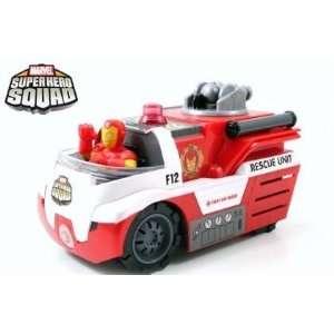 Jada Marvel Super Hero Squad 5.5 Inches Iron Man Toys