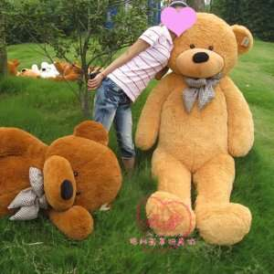 High Quality Teddy Bear Stuffed Light Brown Giant Jumbo 78