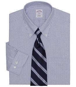 Brooks Brothers Non Iron Check Dress Shirt