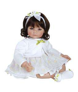 Daisies 20 Vinyl Toddler Dark Brown Hair Brown Eyes Girl Doll