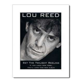 LOU REED Im Cold 1979   Matted Michael McKenzie Print