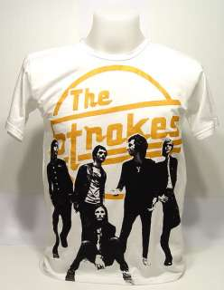THE STROKES Julian Garage VTG Rock Concert T Shirt S