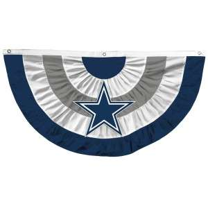 Cowboys Team Celebration Tailgate Party Bunting 27 x 51
