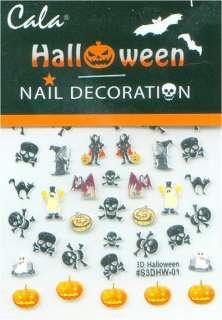 Cala Nail Art HALLOWEEN Decals Stickers 86400A