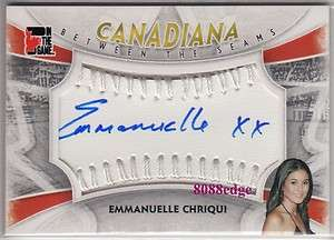 2011 CANADIANA BETWEEN THE SEAMS AUTO: EMMANUELLE CHRIQUI #1/1
