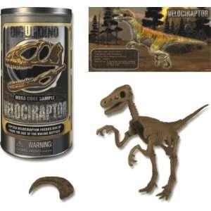 Mega Core Velociraptor Fossil Kit Toys & Games