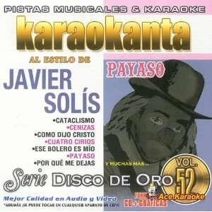 Karaokanta KAR 1752   Javier Solis   Payaso   Spanish CDG