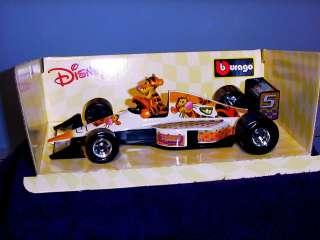 Pooh Tigger 1/24 F1 Formula One Race Car Race Car BBurago NEW