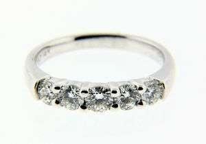 PAUL WINSTON 1 CARAT DIAMOND WEDDING BAND 14 KARAT GOLD BRAND NEW