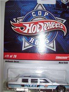 Hot Wheels police Car COP RODS 11 of 26