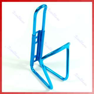 Blue Sports Bike Bicycle Water Bottle Rack Cage Holder