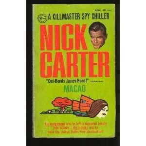 Macao Nick Carter Books