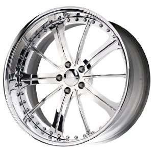 Liquid Metal Splinter Series Chrome Wheel (22x9.5/5x120mm