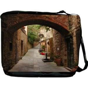 Rikki KnightTM Tuscanny Design Messenger Bag   Book Bag