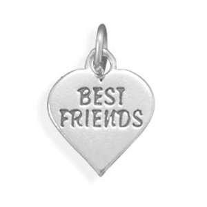 Oxidized Best Friends Charm Jewelry