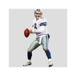 Tony Romo Lookin Deep, Dallas Cowboys   FatHead Life Size